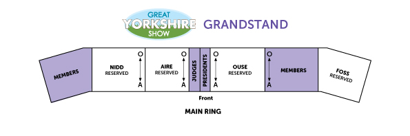 Grandstand Layout